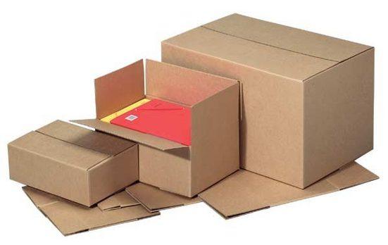 Quali Well Versandkartons 23,0/33,0/11,5 cm - 20 Stück