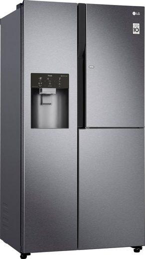 LG Side-by-Side GSJ361DIDV, 179 cm hoch, 91,2 cm breit, Door-in-Door
