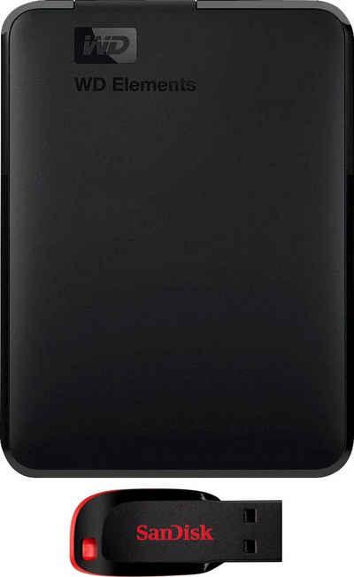 WD »Elements Portable« externe HDD-Festplatte (5 TB) 2,5)