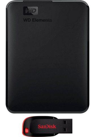 WD »Elements Portable« externe HDD-Festpl...