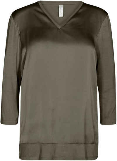 soyaconcept Shirtbluse »SC-THILDE39« Vorderteil leicht glänzend
