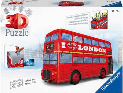 Ravensburger 3D-Puzzle »London Bus«, 216 Puzzleteile, Made in Europe, FSC® - schützt Wald - weltweit