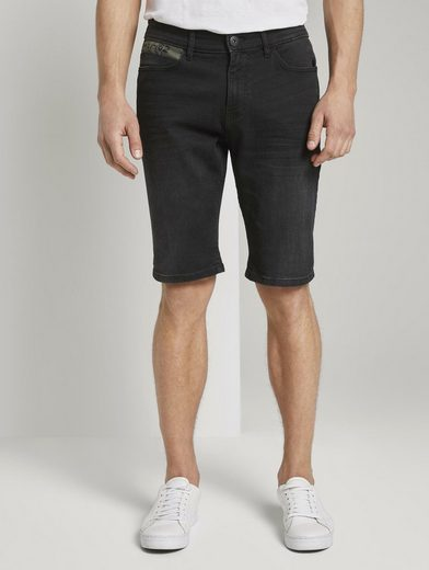 TOM TAILOR Jeansshorts »Josh Regular Slim Jeans-Shorts mit Superstretch«
