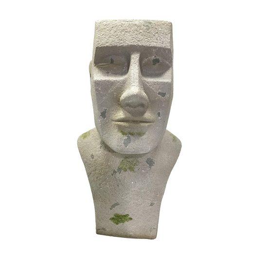 HTI-Line Dekofigur »Pflanzgefäß Moai groß« (1 Stück), Pflanzgefäß