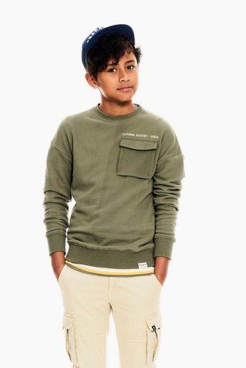 Garcia Sweater mit Brusttasche