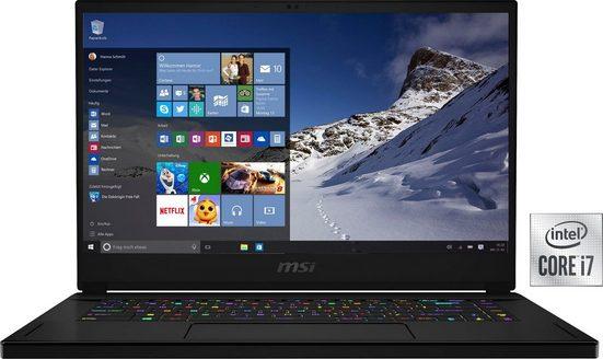 MSI GS66 Stealth 10UG-275 Notebook (39,6 cm/15,6 Zoll, Intel Core i7, 1000 GB SSD)