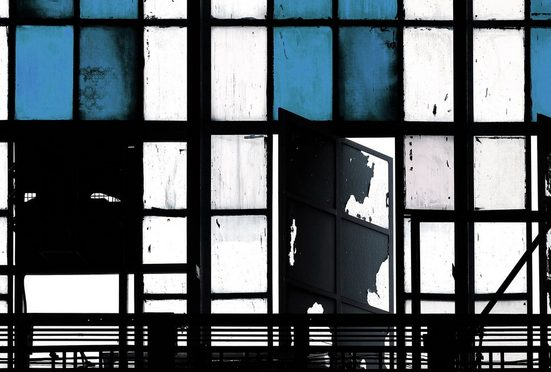 LIVINGWALLS Fototapete »Walls by Patel Bronx 3«, Premium Vlies