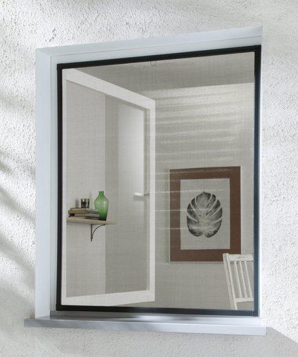 HECHT Insektenschutz-Fenster »BASIC«, anthrazit/anthrazit, BxH: 100x120 cm