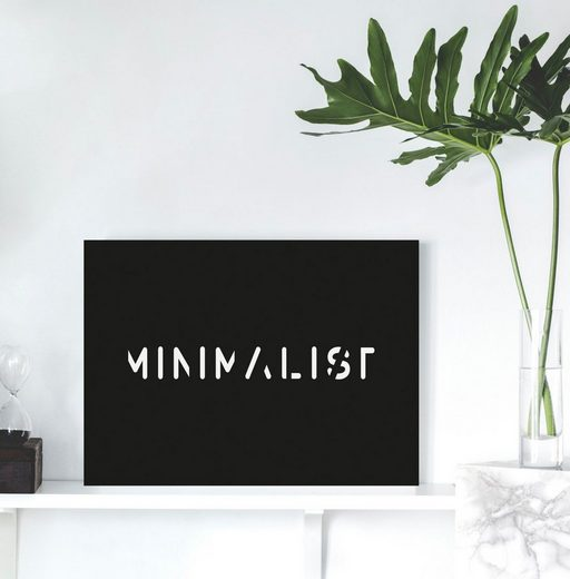 queence Acrylglasbild »MINIMALIST«