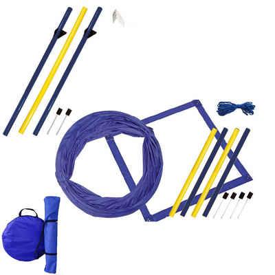 Schecker Agility-Slalom »Dog Agility Starter Set«, Kunststoff, (7-tlg)
