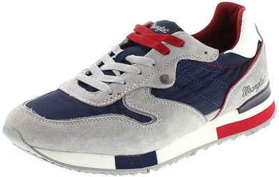 Wrangler »FOREST Herren Low-Top Sneaker Grau Blau« Sneaker