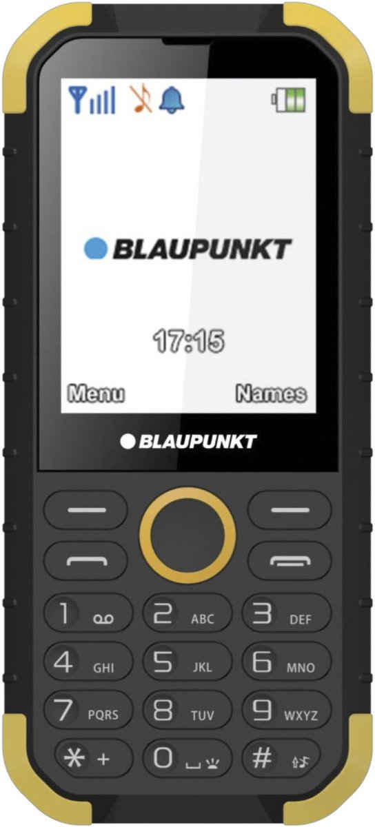 Blaupunkt Sand Outdoor Phone Dual SIM Smartphone (7,1 cm/2,8 Zoll, 0,32 GB Speicherplatz, 1 MP Kamera, Featurephone)
