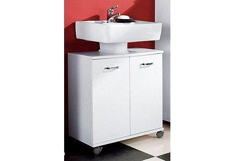 Waschbeckenunterschrank, Schildmeyer, »Java« in weiß