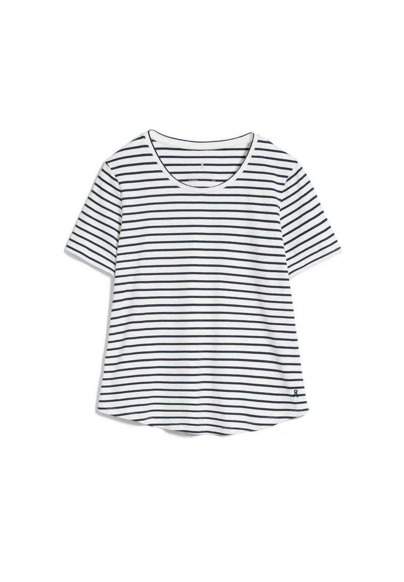 Armedangels T-Shirt »MINAA STRIPES Damen T-Shirt aus Bio-Baumwolle« (1-tlg)