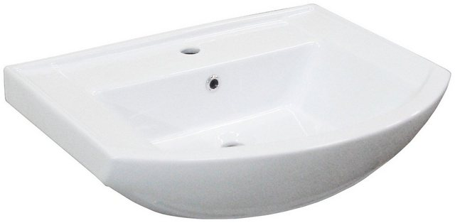 Fackelmann Keramikbecken 65 cm A-VERO Weiß