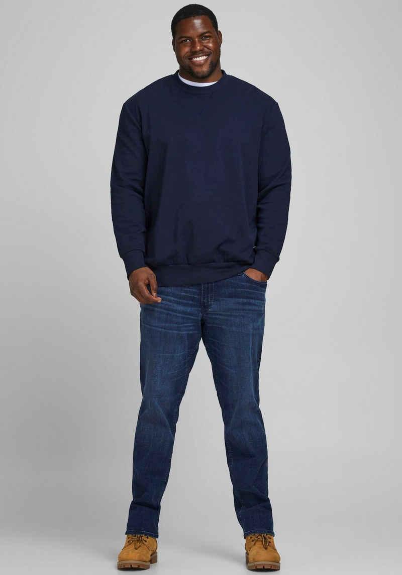 Jack & Jones Sweatshirt »BASIC SWEAT CREW NECK« Bis Größe 6XL