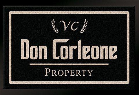 Fußmatte »Don Corleone - Mafia«, HANSE Home, rechteckig, Höhe 7 mm