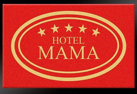 Fußmatte, Hanse Home, »Hotel Mama - 5 Sterne«, rutschhemmend beschichtet, strapazierfähig