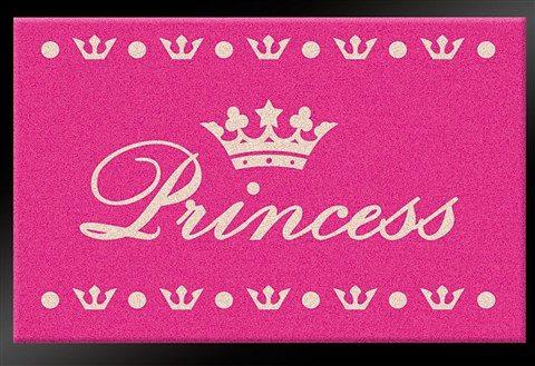 Fußmatte »Princess«, HANSE Home, rechteckig, Höhe 6 mm, gummierter Rücken