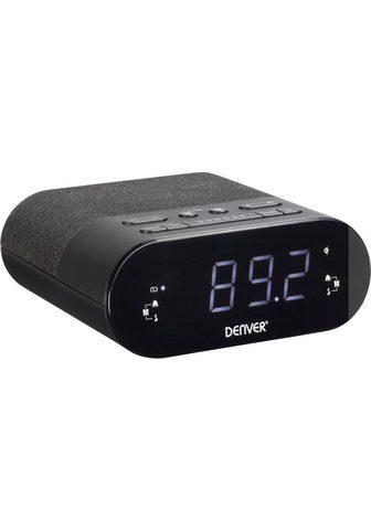 Denver »CRQ-107 FM« Uhrenradio (FM-Tuner)