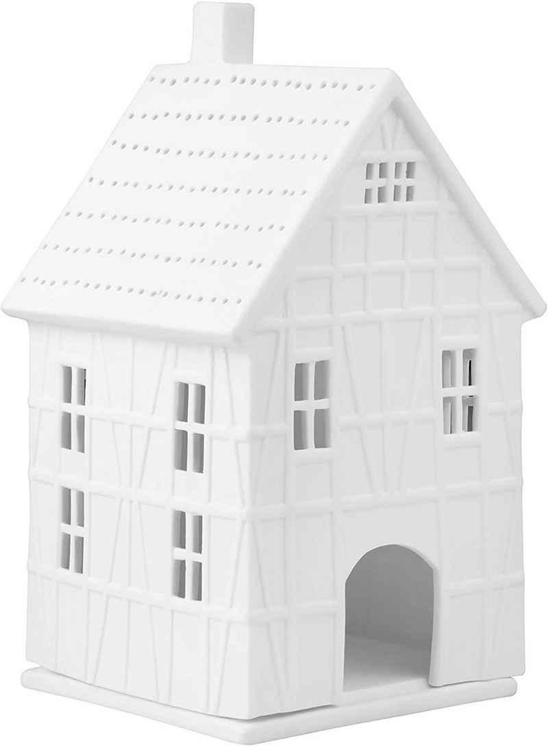 Räder Design Teelichthalter »Lichthaus Zeit« (Packung, 1 Stück, 1-tlg), Haus Form