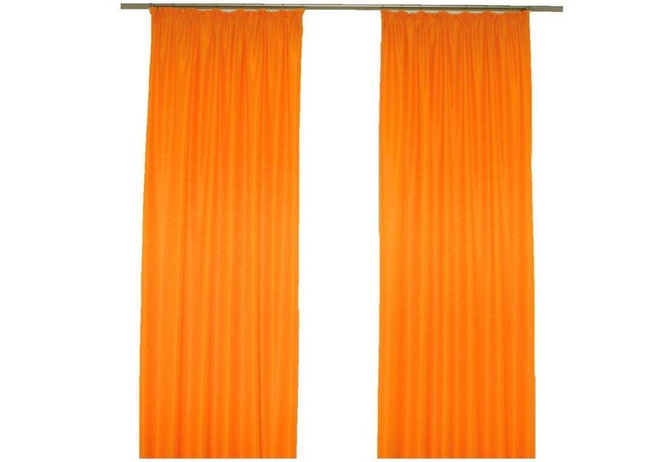 Vorhang, Wirth, »Janine« (1 Stück) in orange