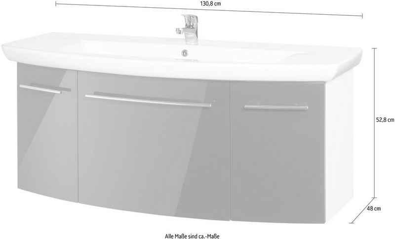 MARLIN Waschtisch »3043«, Breite 130,8 cm