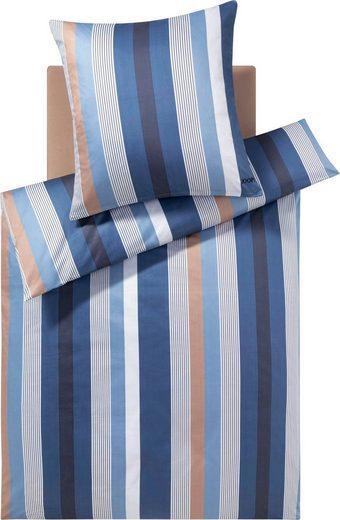 Bettwäsche »STRIPES«, Joop!, Mit elegantem Streifen-Muster
