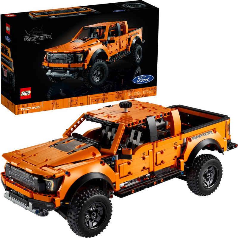LEGO® Konstruktionsspielsteine »Ford® F-150 Raptor (42126), LEGO® Technic«, (1379 St), Made in Europe