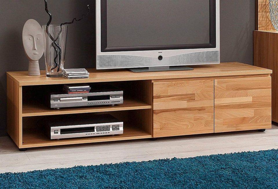 TV-Unterteil, Breite 160 cm in kernbuchefarben