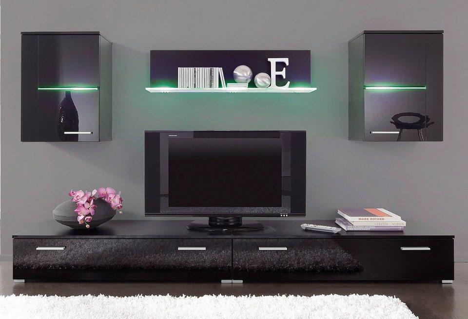 anbauwand 5 tlg online kaufen otto. Black Bedroom Furniture Sets. Home Design Ideas