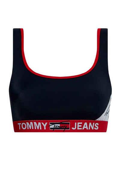 Tommy Hilfiger Bustier-Bikini-Top, mit elastischem Band unter der Brust