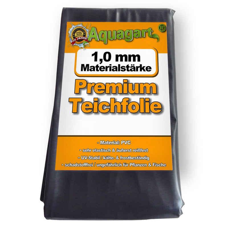 Aquagart Bodenschutzvlies »Teichfolie PVC 5m x 4m 1,0mm schwarz Folie für den Gartenteich«