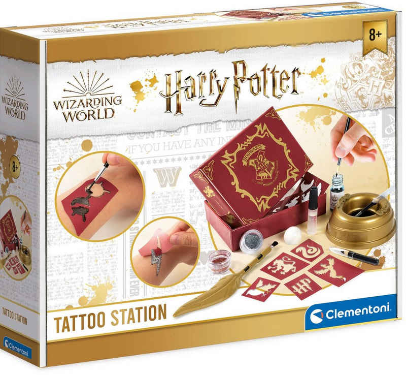 Clementoni® Kreativset »Harry Potter - Tattoo-Maker«