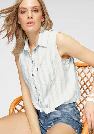 Levi's® Hemdbluse »ALINA TIE SHIRT« vorne zum knoten