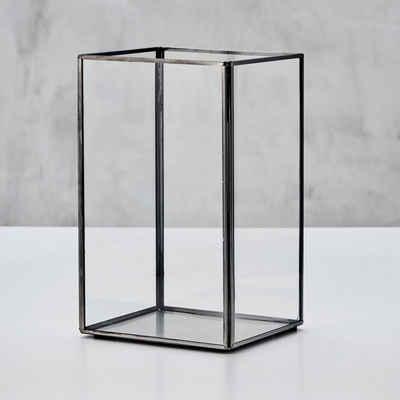 carla&marge Windlicht »Gredda«, aus Glas mit Eisenrahmen
