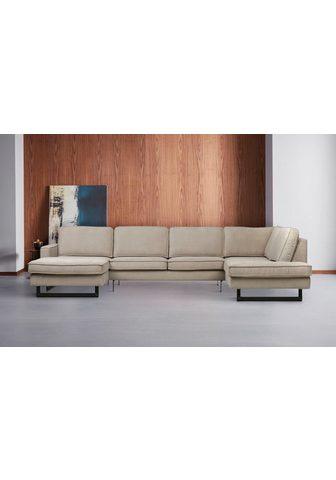 Places of Style Sofa »Pinto« su Keder ir Metallfüßen. ...