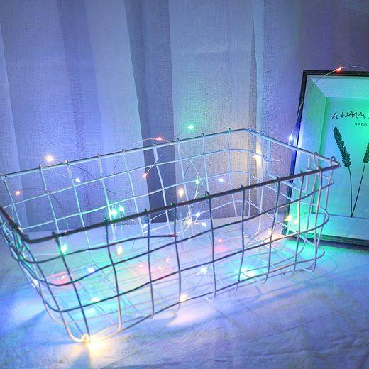 TOPMELON Lichterkette »LED Fotolichterkette«, 20-flammig, mit hölzerne Photo-Clips,Stimmungsbeleuchtung