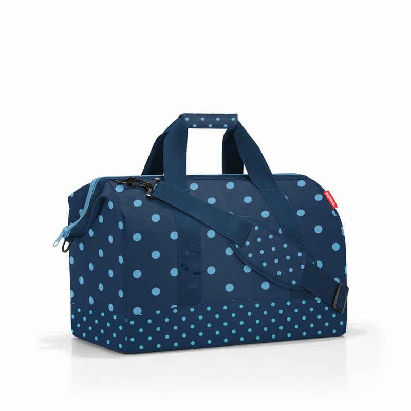 REISENTHEL® Reisetasche »allrounder L Mixed Dots Blue 30 L«