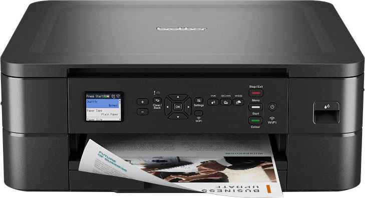Brother DCP-J1050DW Multifunktionsdrucker, (WLAN (Wi-Fi)