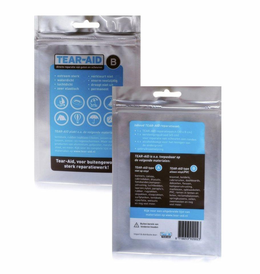 Relags Reinigungsmittel »Tear-Aid Reparaturflicken Typ B« in grau