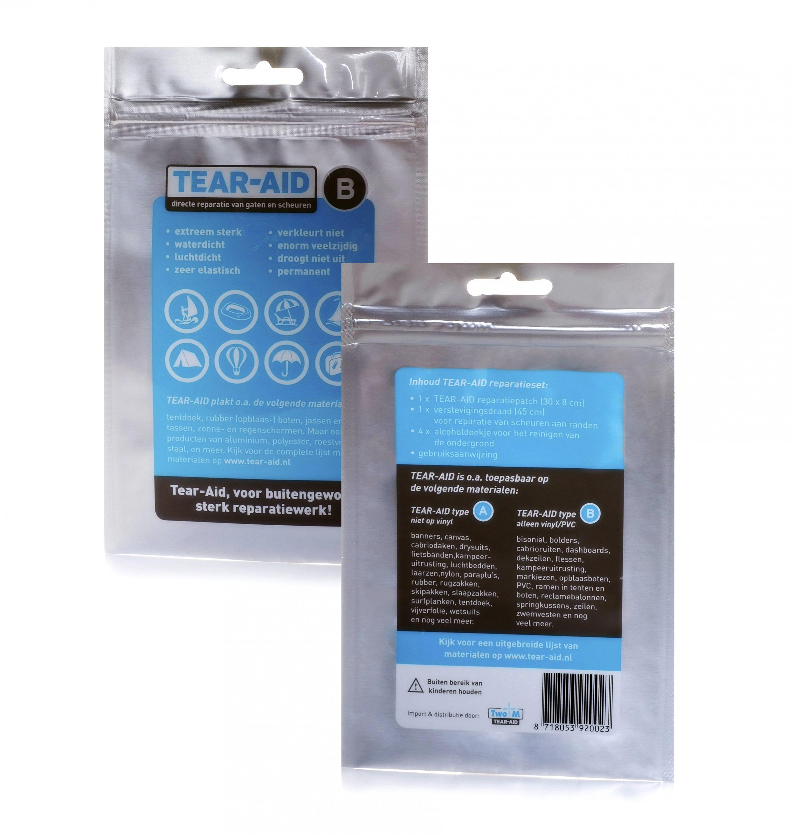 Relags Reinigungsmittel »Tear-Aid Reparaturflicken Typ B«