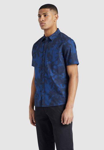Schlussverkauf khujo Kurzarmhemd »TEXON« aus reiner Baumwolle mit Muster