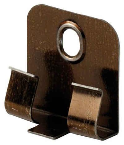 EGGER Leisten-Befestigungsclips »Clipstar«, (Packung, 50-St), Fußleiste auf Clips aufstecken und montieren