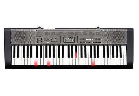 Set: Keyboard, Casio®, »LK-125«, inkl. Ständer, Netzadapter und Liederbuch