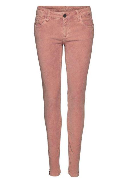 Hosen - BLUE FIRE 5 Pocket Hose »CHLOE« perfekter Sitz durch Elasthan Anteil › rosa  - Onlineshop OTTO