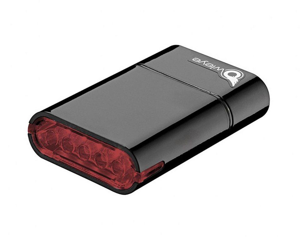 Owleye Fahrradbeleuchtung »MICRO.R Sicherheitslicht schwarz«