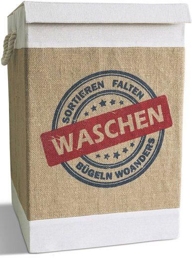 Franz Müller Flechtwaren Wäschebox »Krims Krams«, mit Deckel