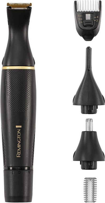 Remington Elektrogesichtshaarentferner REMINGTON Nasenhaartrimmer Ohrenhaartrimmer Augenbrauenrasierer NE7000 T-Series