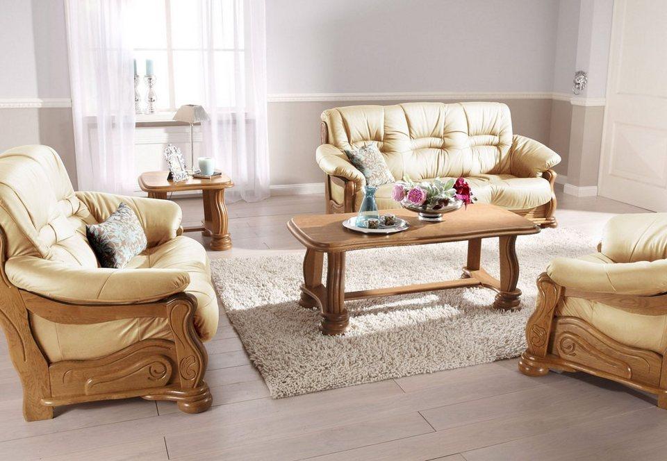 max winzer polstergarnitur texas mit dekorativem. Black Bedroom Furniture Sets. Home Design Ideas